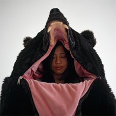 In the Belly of the Beast: Big Brown Bear Sleeping Bag