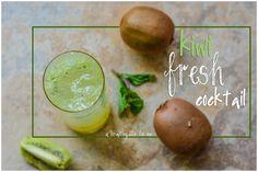 Kiwi Fresh Cocktail Recipe on www.ahealthylifeforme.com #cocktail #recipe #tequila
