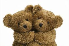 Cuddling Teddy Bears.