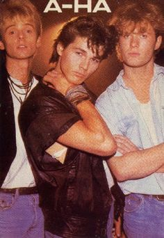 AHA - Viva la musica de los 80 - I was so in love with Morten! I Love Music, Music Is Life, Good Music, Music Pics, 80s Music, Aha Band, 80s Pop, My Childhood Memories, Music Lovers