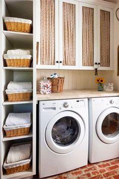 great ideas for organizing my laundry room! #gettingorganized