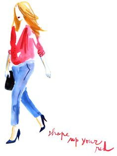 fashion illustration, metamundus, watercolours