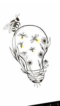 Art Drawings Sketches Simple, Pencil Art Drawings, Cool Drawings, Tattoo Drawings, Easter Drawings, Tattoo Sketches, Drawing Ideas, Arte Sharpie, Meaningful Drawings