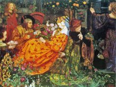 Eleanor Fortescue Brickdale: The Deceitfulness of Riches (1901)