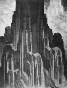 Hugh Ferriss: Delineator of Gotham