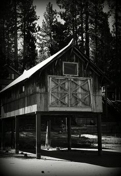 Lake Tahoe California Drought, Boat House.