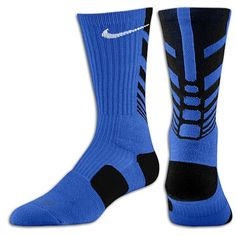 Blue Nike Elite Sequalizer  socks my favorite to wear very comfortable that also compliments the Blue HTC One
