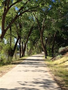 Photo of Animas River Trail in Durango,Co is the only trail that I know that has snow removal and my best bicycle retreat.