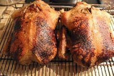 Langtidsstegt jule and Food Porn, Cooking Cookies, Christmas Drinks, Poultry, Brunch, Good Food, Pork, Food And Drink, Turkey