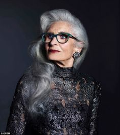 Ageless: Daphne Selfe (pictured) the oldest working supermodel in the world...