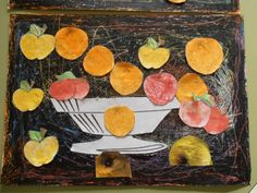 projecto de arte con naranjas   Soñando sonrisas...: Arte en Infantil: CÉZANNE