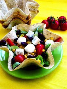 Salate Arhive - simonacallas Taco Salads, Mexican Food Recipes, Ethnic Recipes, Aztec, Tacos, Orice, Salad, Mexican Recipes