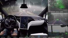Tesla is now testing autonomous vehicles on public California roads     - Roadshow Teslas dedication to developing autonomous vehicles is not new. But what is new is the fact that its now testing autonomous vehicles on public roads in California.  Tesla started testing four autonomous cars on California roads toward the end of 2016 Bloomberg reports. The news came by way of a series of reports released by the California Department of Motor Vehicles which requires companies to send…