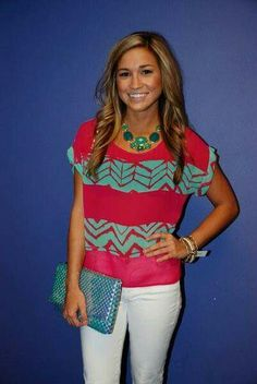 Oh, cool. I already have a similar teal necklace. Would love white denim jeans (not tapered/skinny).