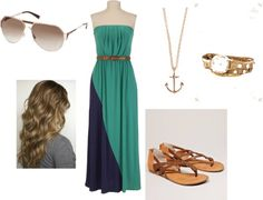 """""""Summer Maxi Dress Outfit"""" by natalier-gast on Polyvore"""