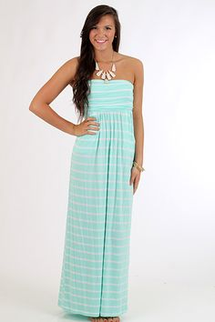Down By The Sea Maxi, mint