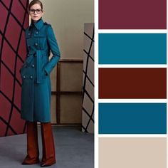 Trends Outfits Color Combos For Spring Colour Combinations Fashion, Color Combinations For Clothes, Fashion Colours, Colorful Fashion, Color Combos, Color Schemes, Fashion Mode, Look Fashion, Classy Fashion