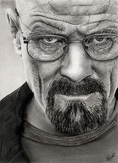 Creative Breaking, Bad, Walter, White, and Thatartistchick image ideas & inspiration on Designspiration Breaking Bad Poster, Breaking Bad Arte, Breaking Bad Series, Walter White, Bad Drawings, Pencil Drawings, Breaking Bad Tattoo, Braking Bad, Movie Posters