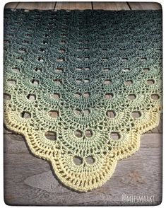 "76 Likes, 10 Comments - Michelle Havenaar (@miesmaakt) on Instagram: ""Another picture of my recently finished Virus shawl  really like the effect of the #colortwist…"""