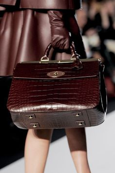 Mulberry at London Fashion Week Fall 2013 - StyleBistro Love this Bag it's FABULOUS!!
