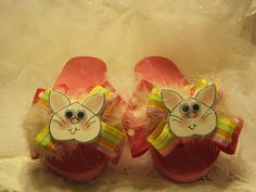 76b5a282b591b I created these Bunny Flip Flops just in time for Spring! How cute would  your
