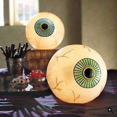 Eyeball light lamps! For Halloween AND BEYOND if you're year-round spooky.