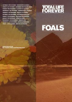 Total Life Forever Tour - Foals poster