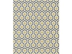Cole & Son HICKS' HEXAGON BLACK/G 66/8056.CS - Lee Jofa New - New York, NY, 66/8056.CS,Lee Jofa,Sidewall,Black,Up The Bolt,Wallcovering,United Kingdom,Yes,Cole & Son,HICKS' HEXAGON BLACK/G