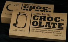 Little Box of Chocolate by Jennifer DiMarco, via Behance