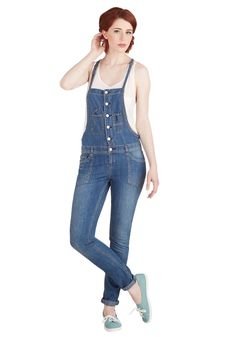 I'll Be Right Overalls, #ModCloth