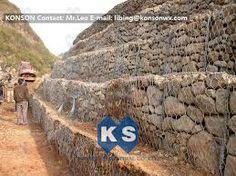 Resultado de imagen para construir un muro de retencion con piedras