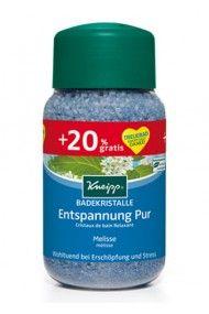 500g + 20% gratis - Badekristalle Entspannung Pur
