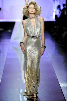 Jean Paul Gaultier Fall 2009 Couture Fashion Show - Michelle Buswell