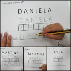 Name Activities Preschool, Preschool Writing, Preschool Education, Kids Learning Activities, Preschool Classroom, Preschool Worksheets, Teaching Kids, Kindergarten, Educational Activities