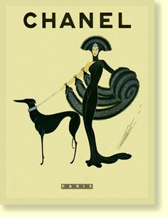 .Chanel - 30s  evening wear n the decade was was sleek and full length compared to shorter hems from the 20s