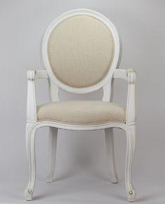 CadeiraVienaBranca com Braços 52 × 60 × 100 cm   A Loja do Gato Preto   #alojadogatopreto   #shoponline   referência 99658662