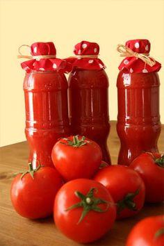 Házi fűszeres paradicsom – ketchup | Weninger Befőzőautomata | tartósítószer-mentes befőzés Ketchup, Food And Drink, Automata, Vegetables, Drinks, Recipes, Places, Canning, Beverages