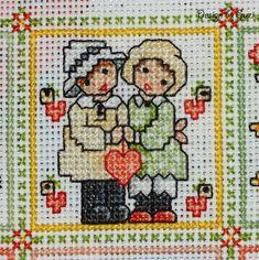 Cross Stitch Cards, Cross Stitch Baby, Cross Stitch Embroidery, Embroidery Patterns, Cross Stitch Alphabet Patterns, Everything Cross Stitch, Sunbonnet Sue, Needlepoint, Needlework