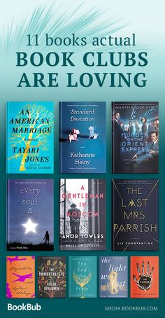 11 book club books for women to read in 2018. You're sure to love these must read novels.