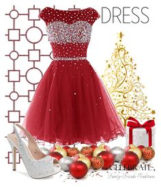 """""""Celebrate"""" by joyfulnoise1052 on Polyvore featuring Lauren Lorraine, WALL and partydress"""