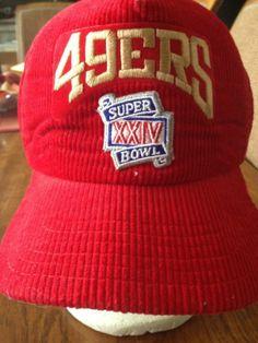 brand new c2b18 509a2 Vintage 49ers Super Bowl XXIV New Era Vintage Snapback Hat Cap   eBay 90s  Hats,
