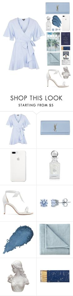 """""""Untitled #201"""" by anessaanne ❤ liked on Polyvore featuring Topshop, Yves Saint Laurent, Branca, Kilian, Alexandre Birman, BERRICLE, JCPenney Home, Passport, Chandelier and Jayson Home"""