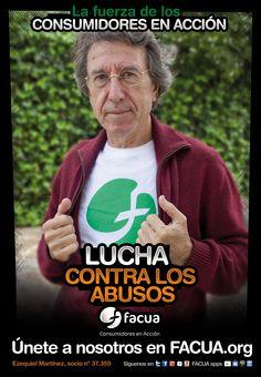 Ezequiel Martínez, socio de FACUA nº 37.359, llama a los consumidores a la lucha contra los abusos