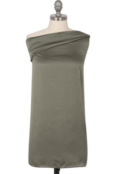 HH Essentials Perfect Satin Scarf - Army Green