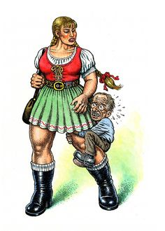 """I hate the way the human psyche works, the way we are traumatized and stupidly imprinted in early childhood and have to spend the rest of our lives trying to overcome these infantile mental fixations. And we never ever fully succeed in this endeavor."" — R. Crumb"