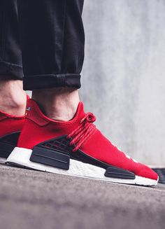 official photos 34543 fb929 Would you pay over  200 for the PHARRELL × ADIDAS Human Race NMD Scarlet