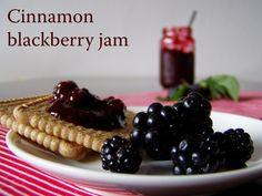 TynaTyna: Cinnamon blackberry jam Home Canning, Blackberry, Cinnamon, Homemade, Fruit, Cooking, Breakfast, Recipes, Food