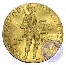 Monnaie en or des PAYS BAS: DUCAT 1769
