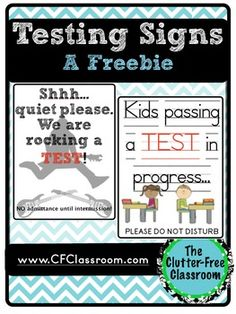 TESTING SIGNS: Do Not Disturb {Free Printable Signs}