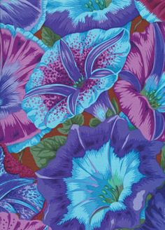 Rowan Kaffe Fassett Philip Jacobs Moon Flower Blue
